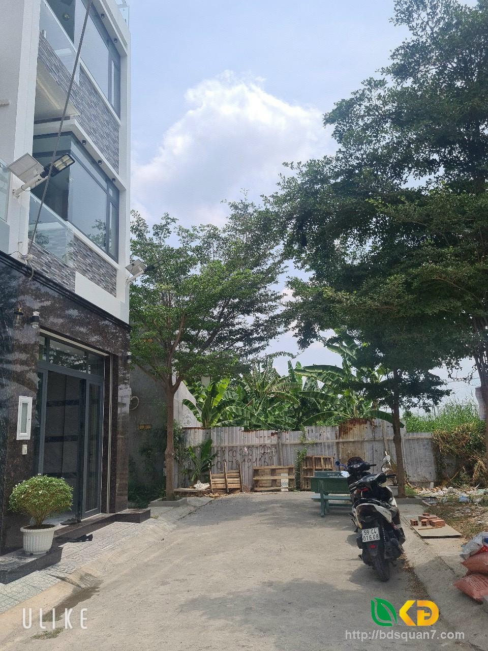 Nhà mới 100% đẹp hẻm 83 Đào Tông Nguyên , Thị Trấn Nhà Bè( Kho C)