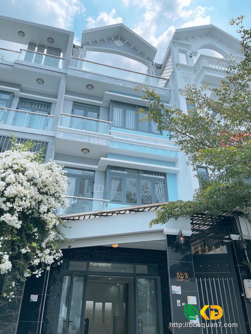 Nhà mới 100% đẹp hẻm 52 càfe Omely  Đào Tông Nguyên , Thị Trấn Nhà Bè( Kho C)