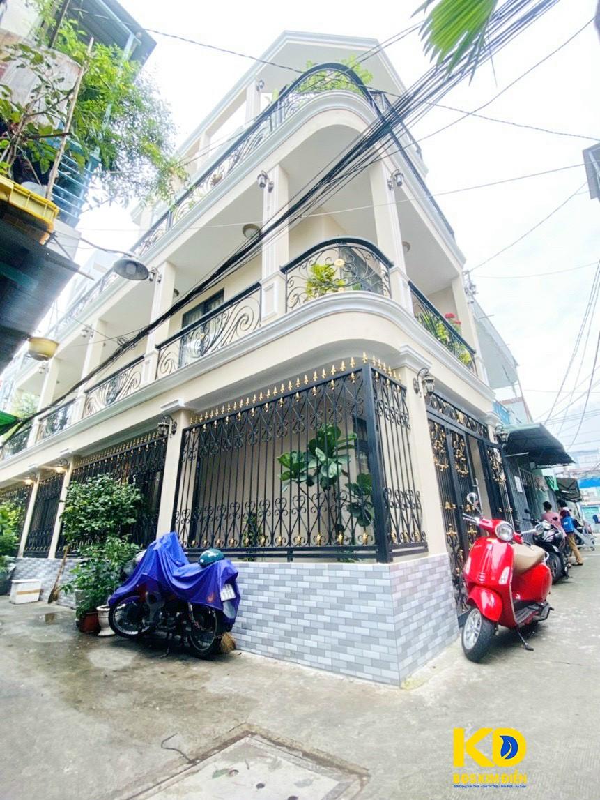 Bán nhà 3 lầu tuyệt đẹp hẻm xe hơi đường Nguyễn Duy Phường 9 Quận 8