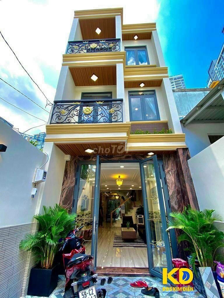 Bán nhà phố 2 lầu hiện đại hẻm xe hơi 5m Hoàng Quốc Việt P. Phú Thuận Q7