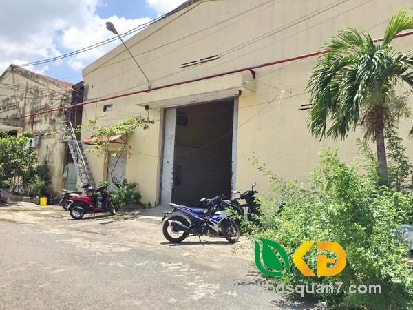 Cho thuê kho xưởng 1000m2 khu Nam Long Trần Trọng Cung quận 7.