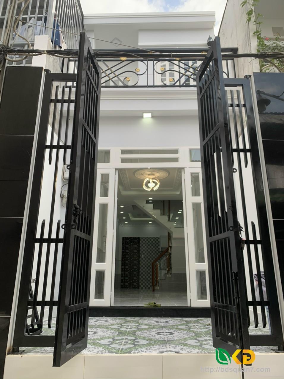 Bán nhà mới 100% hẻm xe hơi 6m 1942 đường Huỳnh Tấn Phát KP6 Huyện Nhà Bè